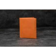 ![CDATA[Bellroy]] Note Sleeve Wallet Burnt Orange