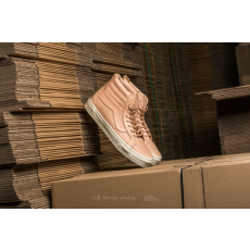 Vans Sk8-Hi Reissue Zip (Veggie Tan Leather) Tan