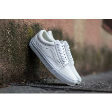 Vans Old Skool Reissue (Leather) White