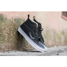 Vans Sk8-Hi Reissue PT (Military Twill) Black/ True White