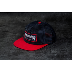 THRASHER Magazine Logo Mesh Blue/ Red