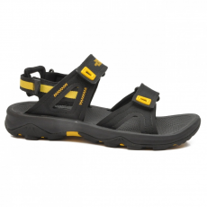 North Face M HEDGEHOG SANDAL II bfy TNF BLACK/FREESIA YELLOW