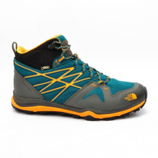 North Face M HEDGEHOG FASTPACK LITE MID GTX DB DEEP TEAL BLUE/BRUSHFIRE ORANGE