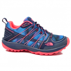 North Face W LITEWAVE EXPLORE PTC PATRIOT BLUE PRINT/TROPICAL CORAL