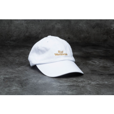 HUF Apparel Domestic Worldwide Curve Brim Cap White/ Gold