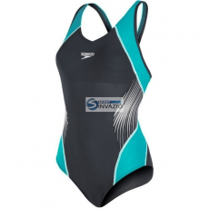 Speedo Strój kąpielowy Speedo Fit Splice Muscleback W 8-10379B072