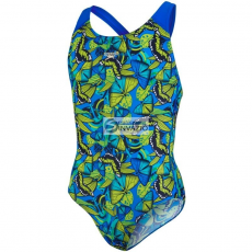 Speedo Strój kąpielowy Speedo Sambeeny Allover Splashback Junior 8-07386B102