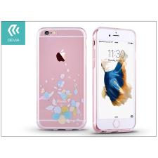 Devia Apple iPhone 6 Plus/6S Plus hátlap kristály díszitéssel - Devia Crystal Soft Belis - clear/blue tok és táska