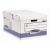 FELLOWES Csapófedeles archiváló konténer, BANKERS BOX? SYSTEM BY FELLOWES? , kék (10db/csom) IFW11415