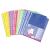 VIQUEL Genotherm, lefűzhető, A4, 50 mikron, víztiszta, VIQUEL, vegyes színek (50db/csom) IV106050