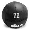 Capital Sports CAPITAL SPORTS Bravor Wall Ball medicinlabda, PVC, dupla varrások, 4kg, fekete