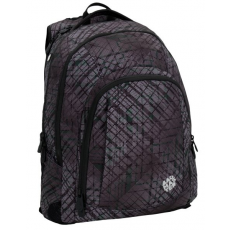Bagmaster diák hátizsák LINCOLN 6 B BLACK/GREY/GREEN