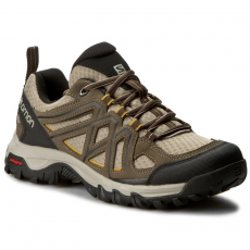 Salomon Bakancs SALOMON - Evasion 2 Aero 393599 27 M0 Vintage Kaki/Bungee Cord/Honey