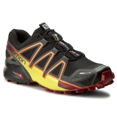 Salomon Cipők SALOMON - Speedcross 4 Cs 394661 27 V0 Black/Magnet/Red Dalhia