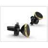 Univerzális Univerzális szellőzőrácsba illeszthető mágneses PDA/GSM autós tartó - állítható fejjel - gold