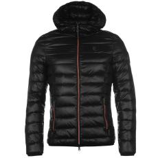 883 Police Downer férfi kapucnis cipzáras dzseki fekete XL