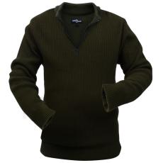 férfi pulóver méret: L katona zöld