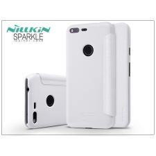 Nillkin Google Pixel XL oldalra nyíló flipes tok - Nillkin Sparkle - fehér tok és táska