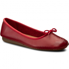 Clarks Balerina CLARKS - Freckle Ice 261237294 Red