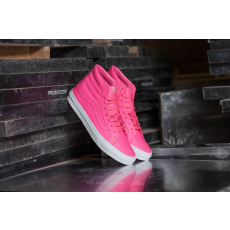 Vans Sk8-Hi Slim Neon Leather/ Neon Pink