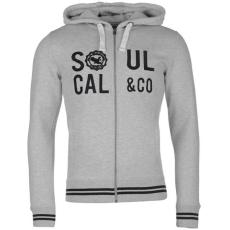 SoulCal Zip férfi kapucnis pulóver| felső