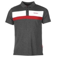 KickersContrasting Stripe férfi piképóló, pólóing
