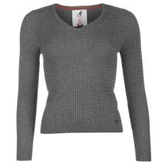Kangol Cable V női kötött pulóver