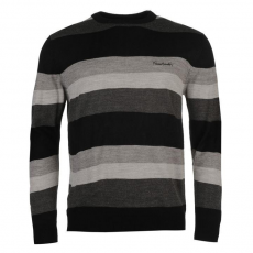 Pierre Cardin Big Stripe férfi kötött pulóver