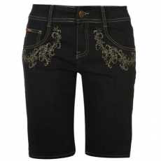 Lee Cooper C Embroidered női rövidnadrág, short