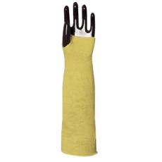 MV kötött sárga KEVLAR karvédő 4667 HŐ- és vágásbiztos  45 cm