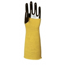 MV kötött sárga KEVLAR karvédő 4666  HŐ- és vágásbiztos  35 cm