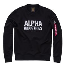 Alpha Industries Camo Print Sweat - fekete/fehér
