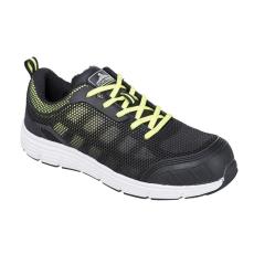 FT15 - Steelite Tove Trainer védőcipő, S1P - fekete / zöld (43)