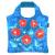 ecozz Rövid fülű bevásárlótáska cipzárral Happy Poppy - ecozz