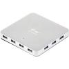 I-TEC USB 3.0 HUB 10 Metal töltőcsatlakozó