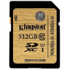 Kingston SDXC UHS-I 512 gigabájt Class 10