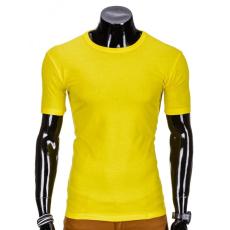 Ombre Men's Fashion Póló S 620 sárga