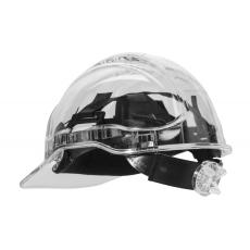 PV64 - Peak View Plus gyorsbeállítós, átlátszó védősisak - víztiszta