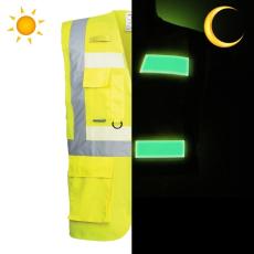 G476 - Glowtex vezetői mellény - sárga (3XL)
