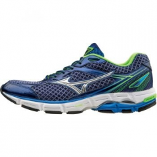 Mizuno Wave Connect 3 férfi futócipő, Blue/Silver, 41 (J1GC1648-04-8.5)
