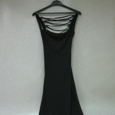 Fekete-Fűzős hátú ruha