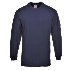 FR11 - Lángálló hosszú ujjú póló - Tengerészkék (4XL)