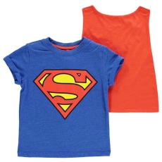 Character gyerek póló - Superman - Character Short Sleeve T Shirt Infant Boys