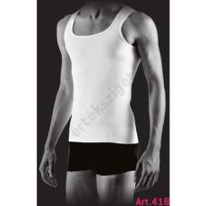 Alakformáló férfi atléta, Farmacell 418, fehér, M