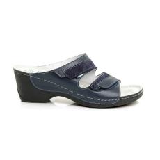 Batz Mariann kék papucs