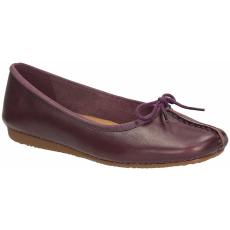 Clarks Freckle Ice lila cipő