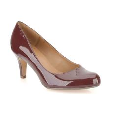 Clarks Arista Abe burgundy cipő