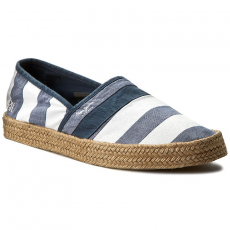 Pepe Jeans Espadrilles PEPE JEANS - Sailor Print PMS10191 Chambray 564