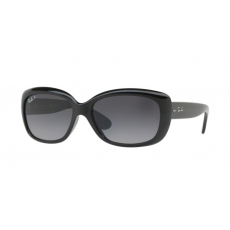 Ray-Ban RB4101 601/T3 JACKIE OHH SHINY BLACK GREY GRADIENT DARK GREY POLAR napszemüveg