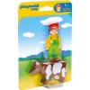Playmobil 6972 - Farmer és tehéne
